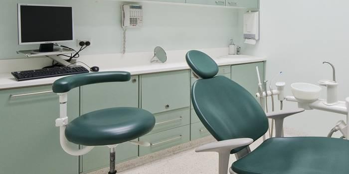 ambulatorio con attrezzature per dentista
