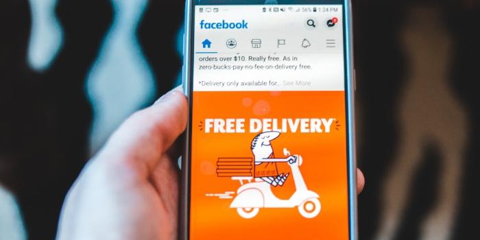 schermata facebook delivery