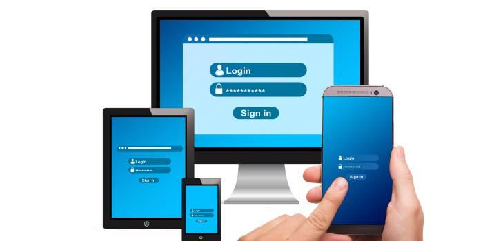 monitor con accesso login