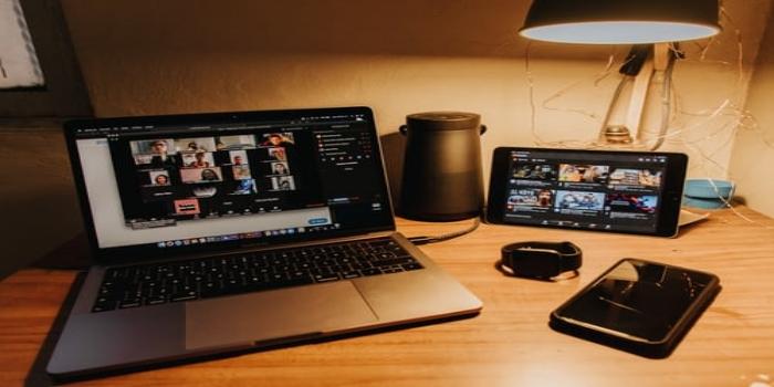 videochiamata di lavoro da casa