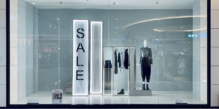 negozio vetrina
