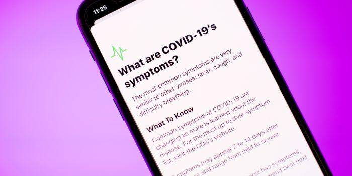 schermata coronavirus