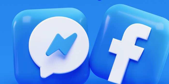 logo di messenger e Facebook