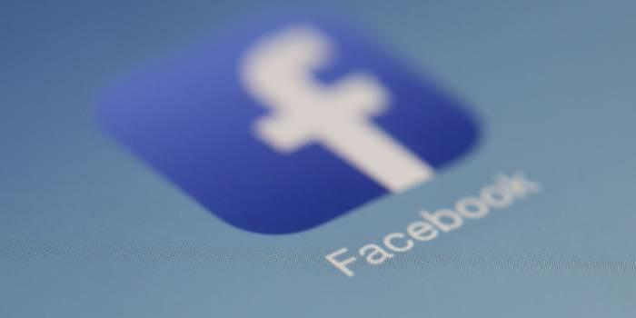 logo con scritta facebook